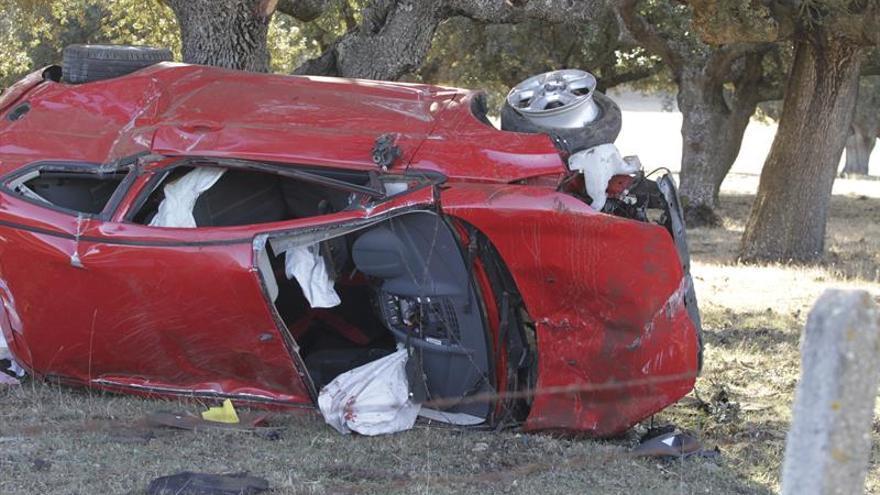 Cinco muertos en otros tantos accidentes desde las 15.00 horas del viernes