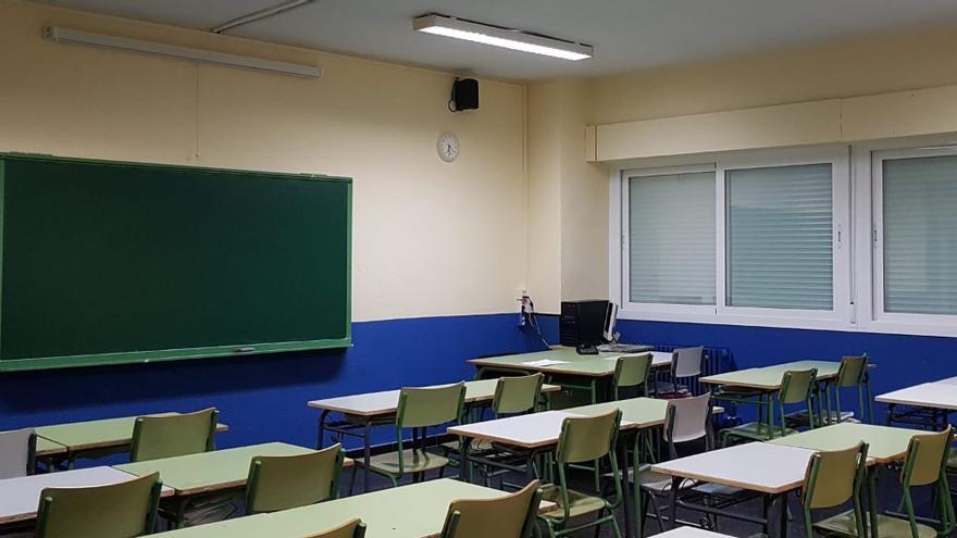 El IES Fortuny suspende hasta el lunes las clases presenciales por avería en la calefacción