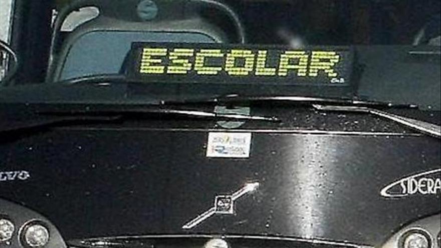 Tráfico intensifica esta semana los controles sobre los autobuses escolares