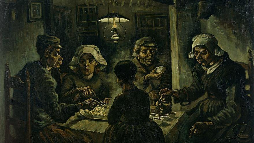 'Los comedores de patatas' del pintor Vincent van Gogh.