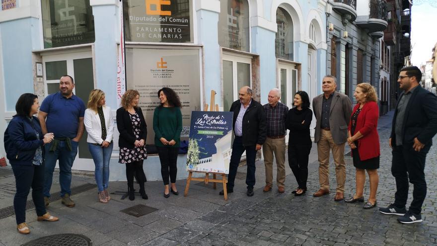 Presentación cartel anunciador de la próxima edición de la 'Noche de Las Estrellas' en Santa Cruz de La Palma.