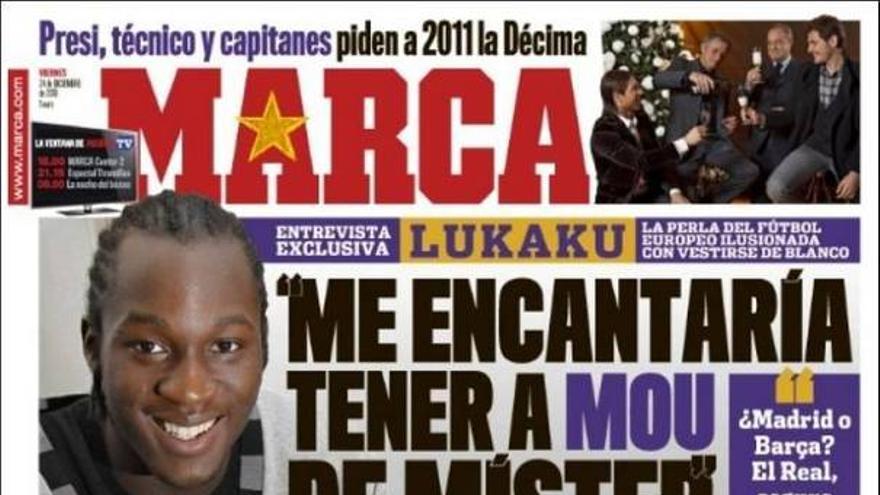 De las portadas del día (24/12/2010) #12