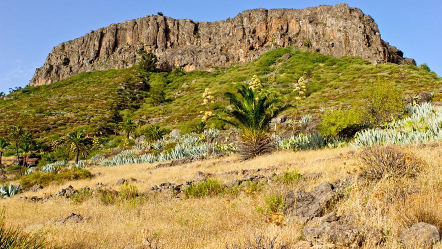 La Fortaleza de Chipude, la mítica Argodey de los aborígenes de la isla de La Gomera.