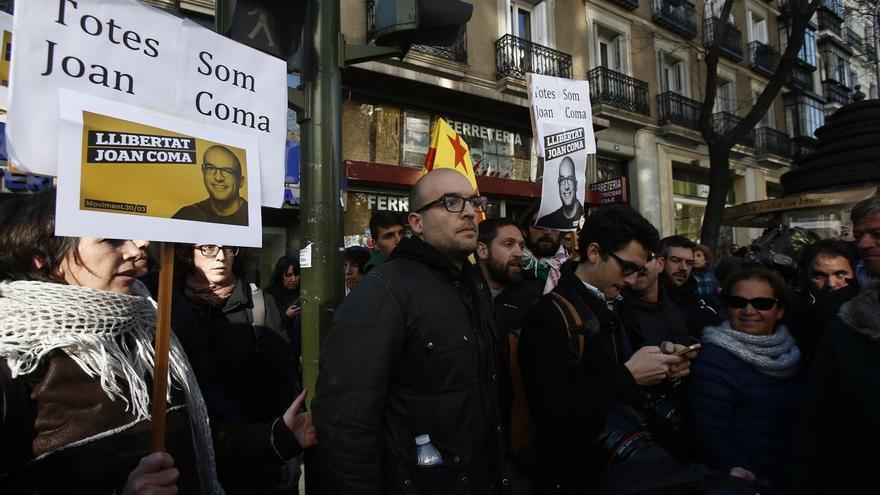 """Joan Coma (CUP) dice que seguirá en la desobediencia si le vuelven a llamar a declarar: """"Saben donde estoy"""""""