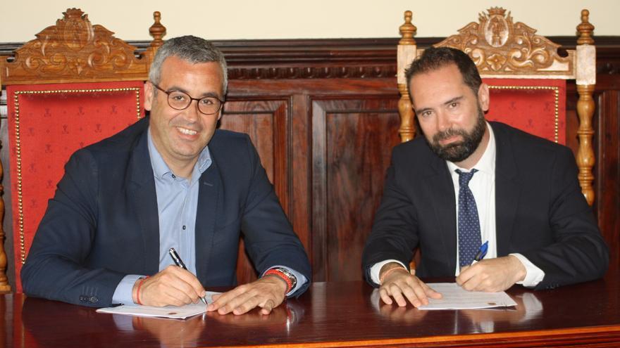 Sergio Matos y Diego Cambló.