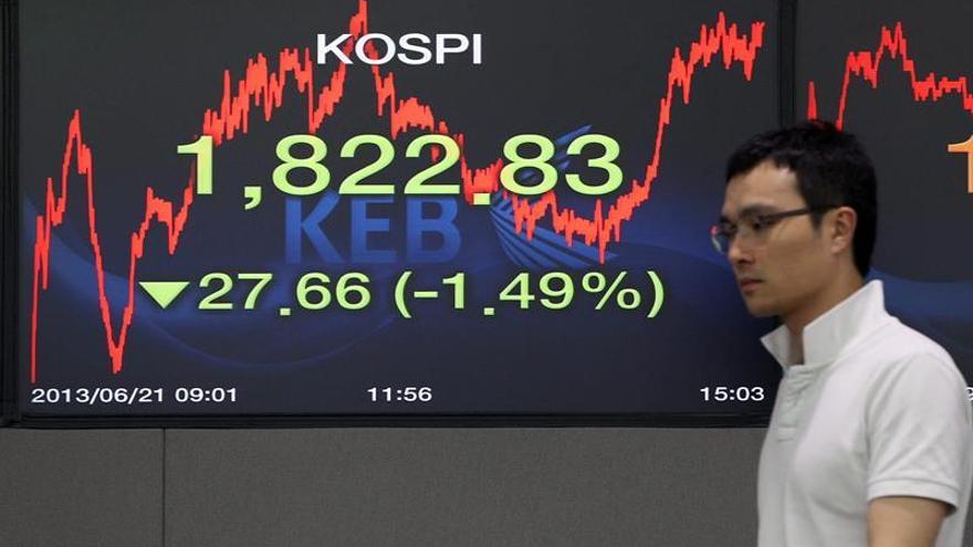 La Bolsa de Seúl abre con una caída del 0,10 por ciento