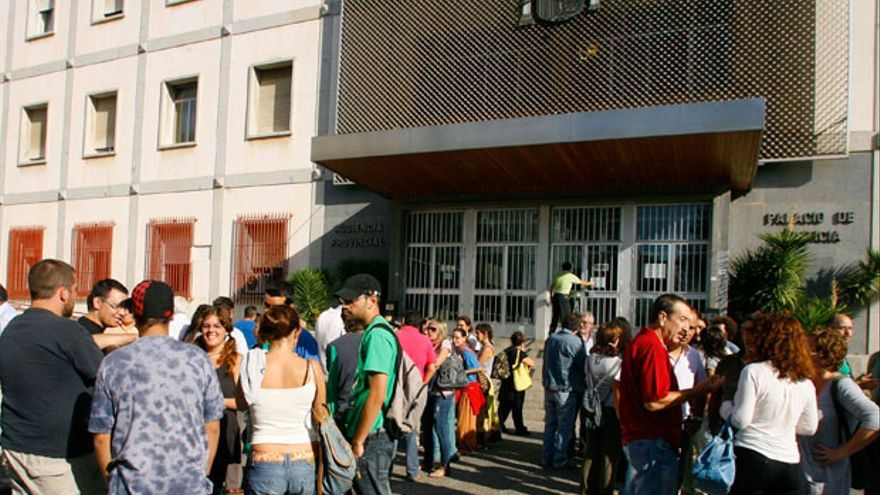 Portada de la Audiencia Provincial | MADERO CUBERO
