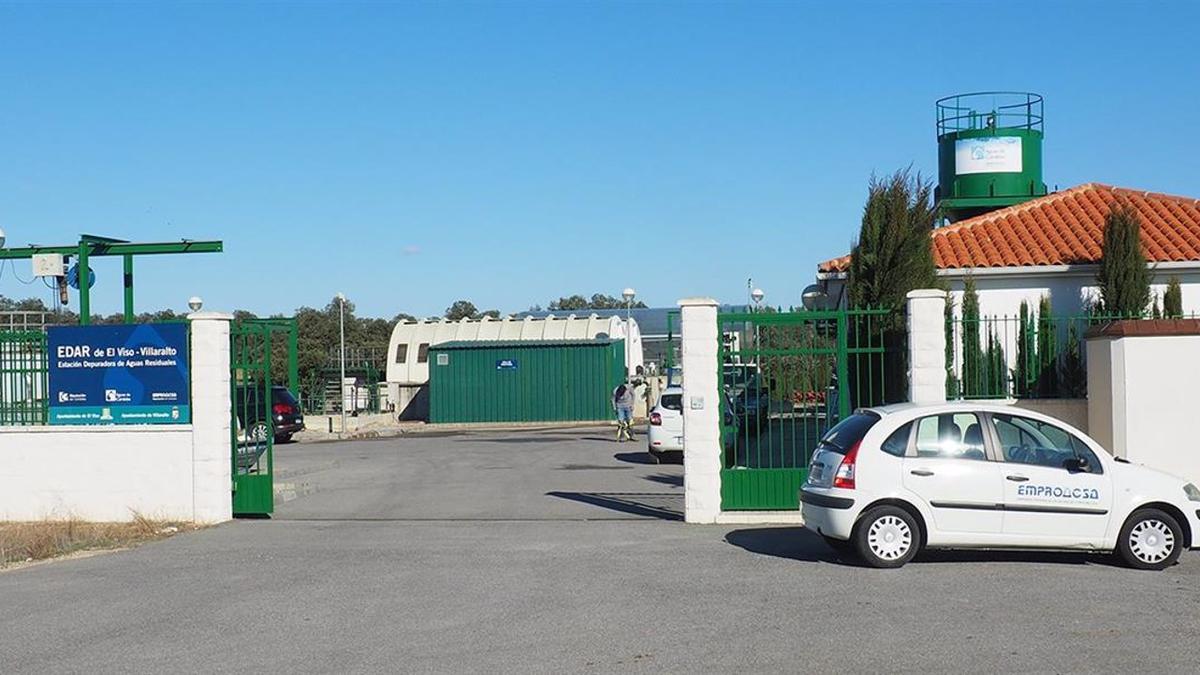 La Estación Depuradora de Aguas Residuales (EDAR) de El Viso-Villaralto.