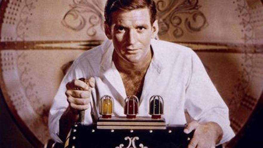 Fotograma de la película La máquina del tiempo (1960) basada en la novela de H.G. Wells