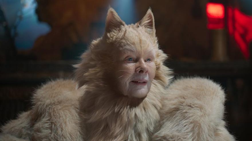 Judi Dench en 'Cats'