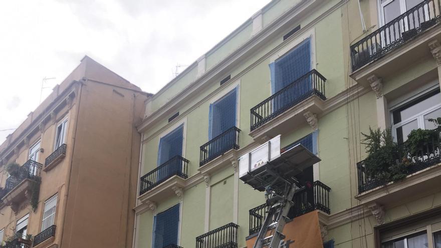 El edificio adquirido por Casa Caridad que albergará viviendas para personas sin hogar