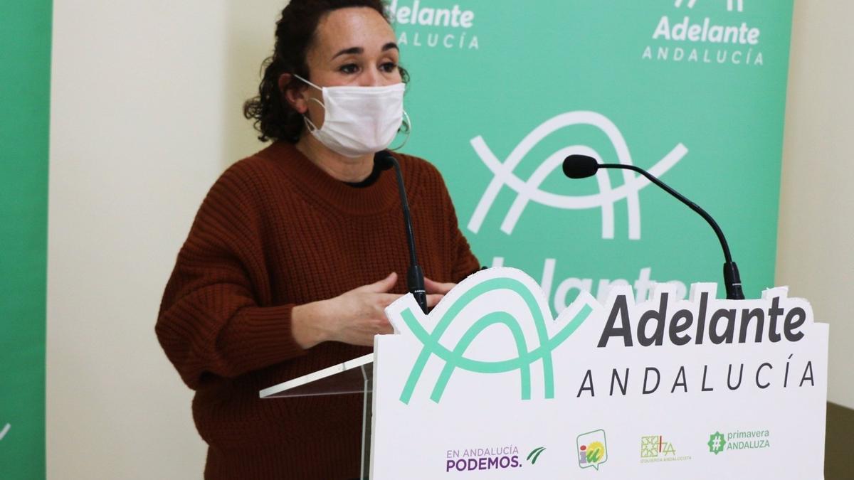 La diputada andaluza Ana Naranjo.