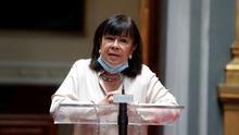 La vicepresidenta primera del Senado, Cristina Narbona.