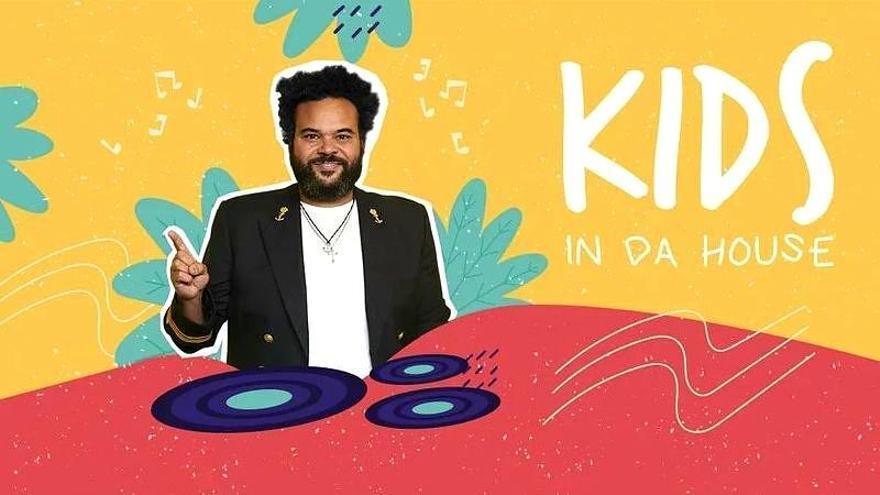 Mitele ofrecerá 'Kids in da house', una sesión musical de Carlos Jean para toda la familia