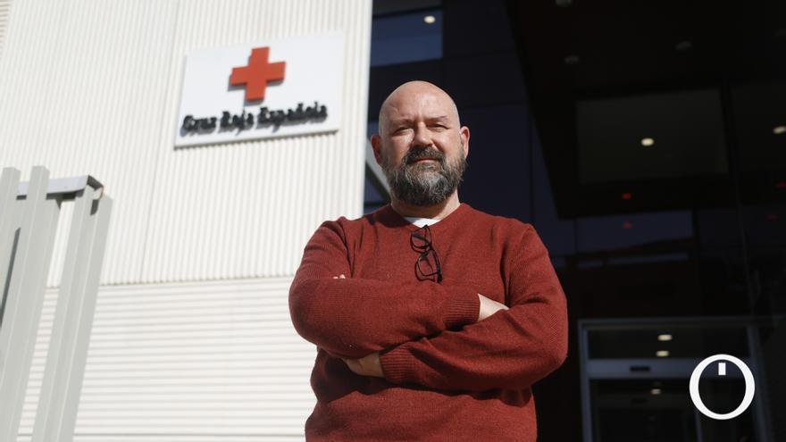 Germán Ayala, director provincial de Cruz Roja