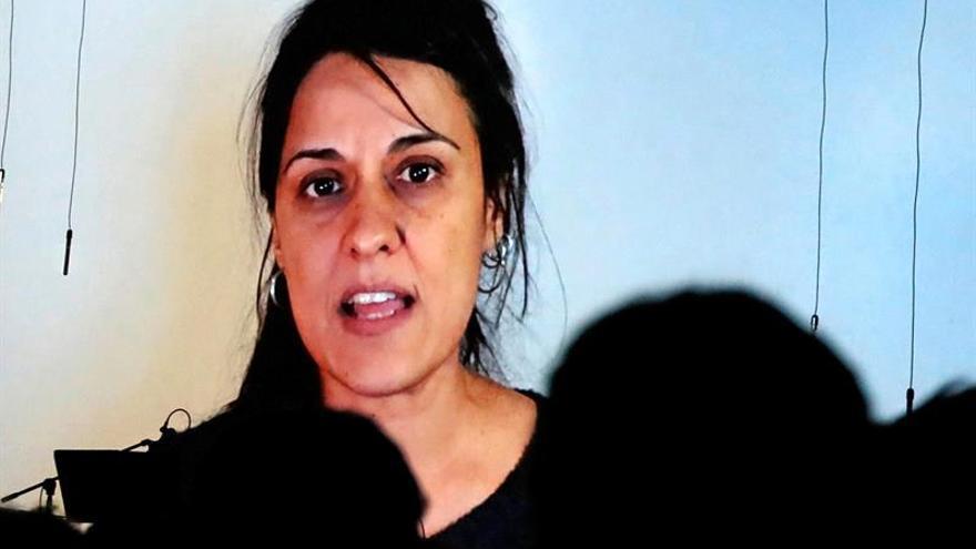 Anna Gabriel reclama la libertad de los presos en un mensaje desde Suiza
