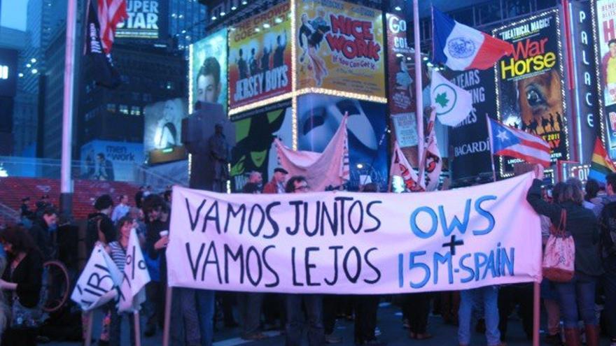 Manifestación del 1º de mayo, 2012