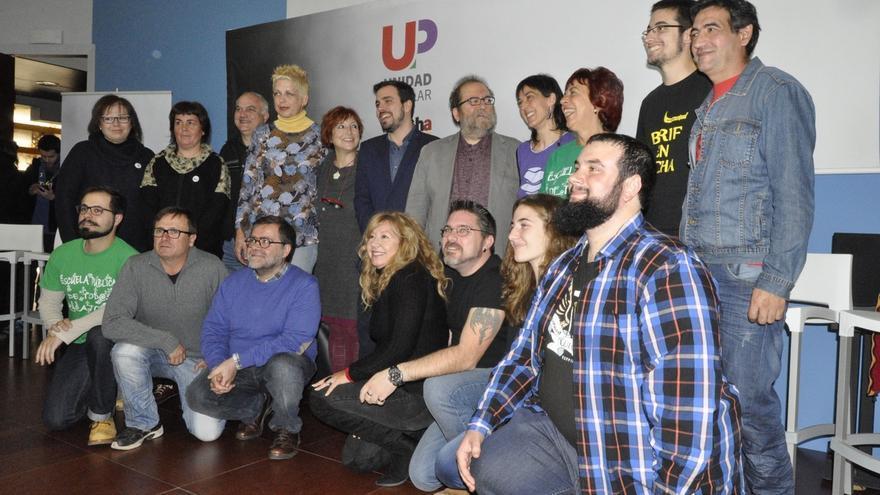 Un partido canario pretendía quitar las siglas UP a la coalición Unidad Popular de IU