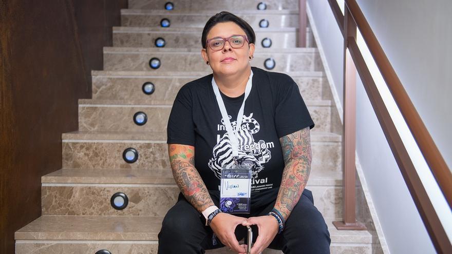 Vivian Zuñiga, de la organización Sulá Batsú.