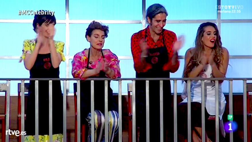 Antonia Dell'Atte, Paz Vega, Mario Vaquerizo y Ona Carbonell, finalistas de Masterchef Celebrity 3