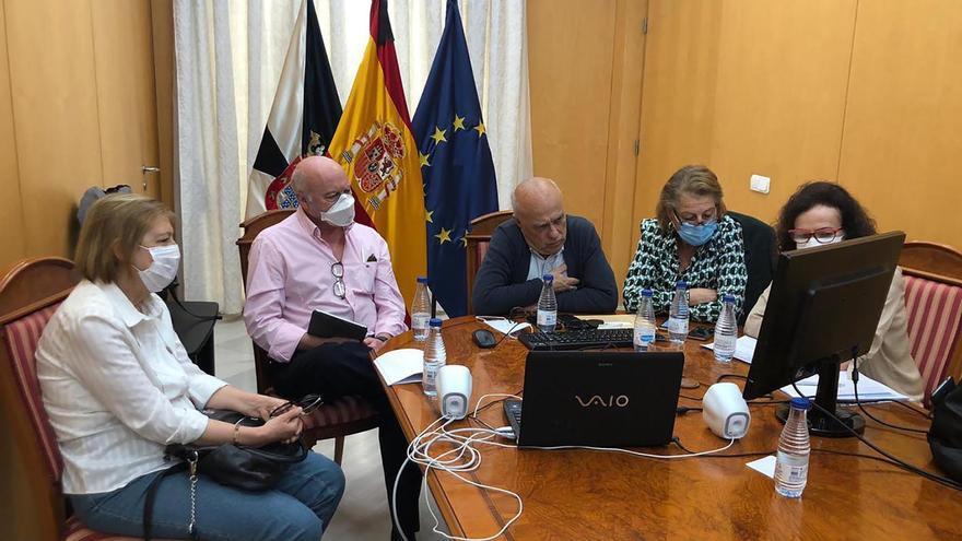 Representantes de Salud de Ceuta reunidos con el ministerio de Sanidad.