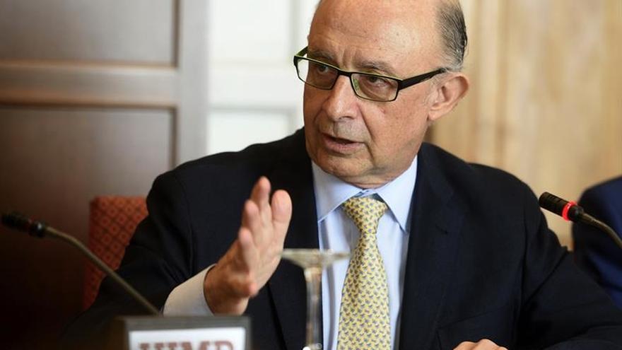 """Montoro cree que sancionar a España """"no tiene ningún sentido"""""""