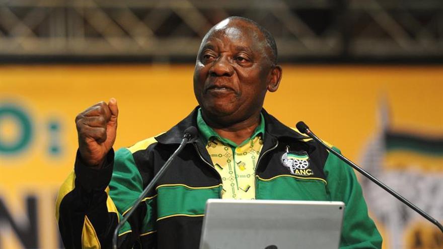 El Parlamento sudafricano votará hoy a Ramaphosa como nuevo presidente