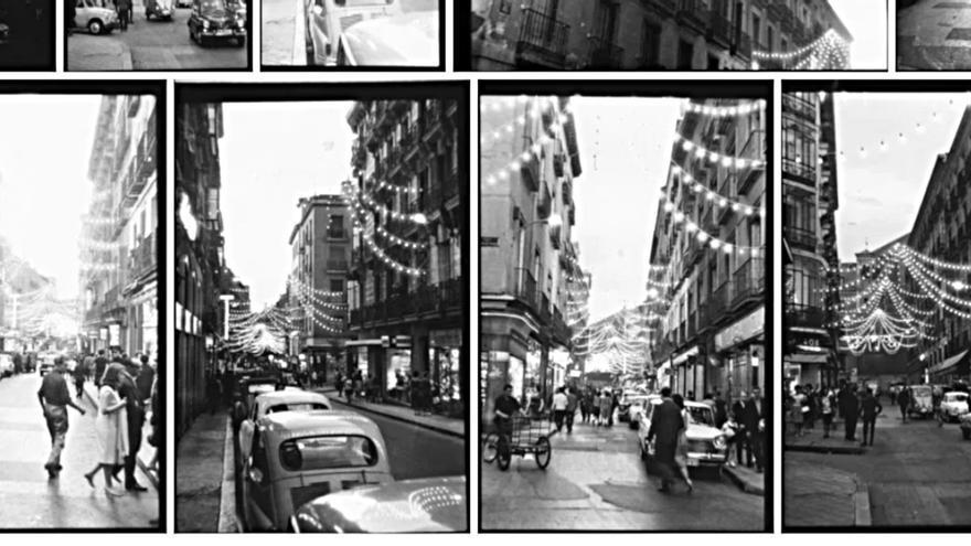 Calle del Pez, 1965   SANTOS YUBERO (Archivo Regional Comunidad de Madrid)