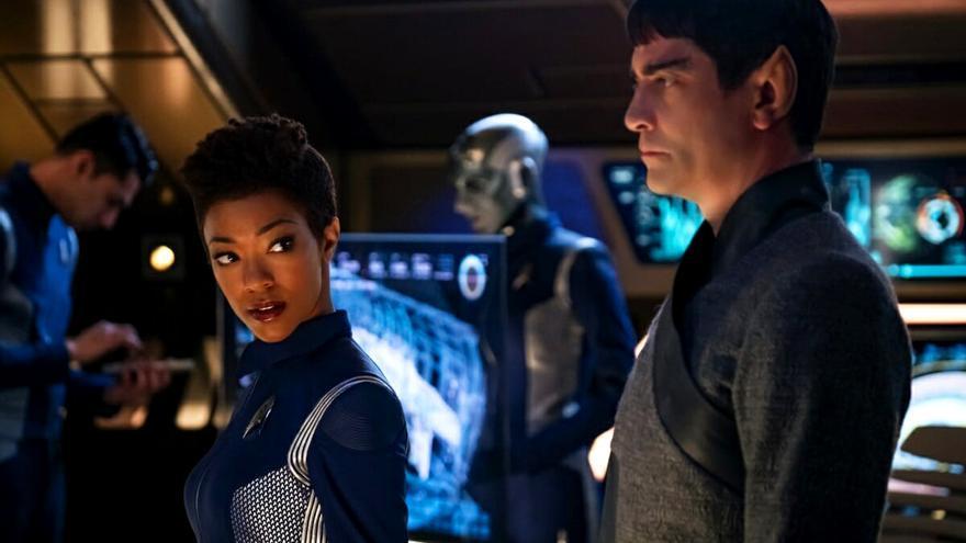 Sonequa Martin-Green en 'Star Trek: Discovery'