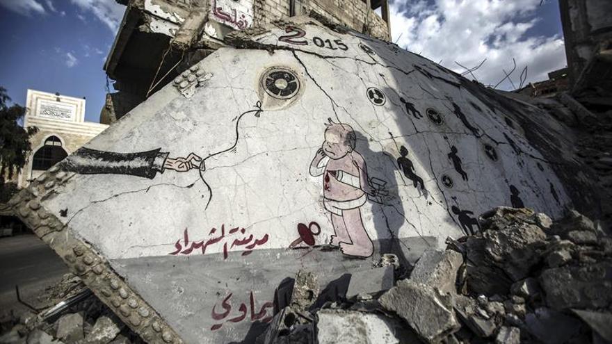Varios afectados con síntomas de asfixia en un supuesto ataque químico en Siria