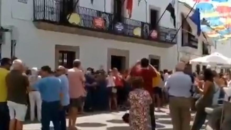 Concentración en Malpartida de Cáceres