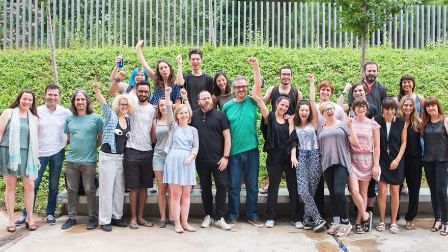 Actores seleccionados en el proyecto Under 25