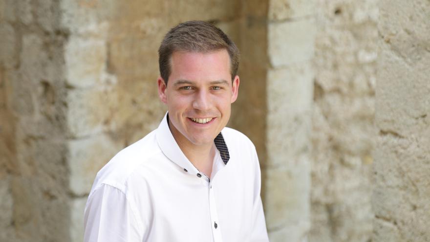 Roger Cerdà, candidato del PSPV a la alcaldía de Xàtiva