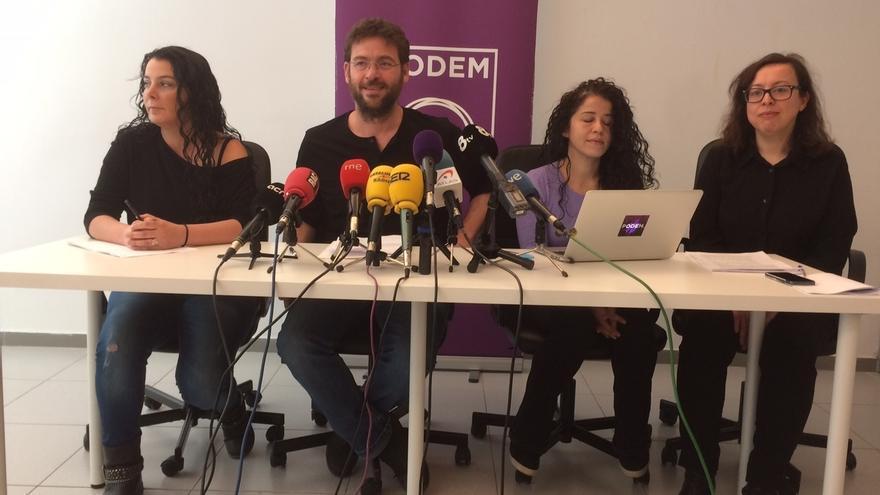 Fachin desoye a Pablo Iglesias y se reafirma en no confluir con los 'comuns'