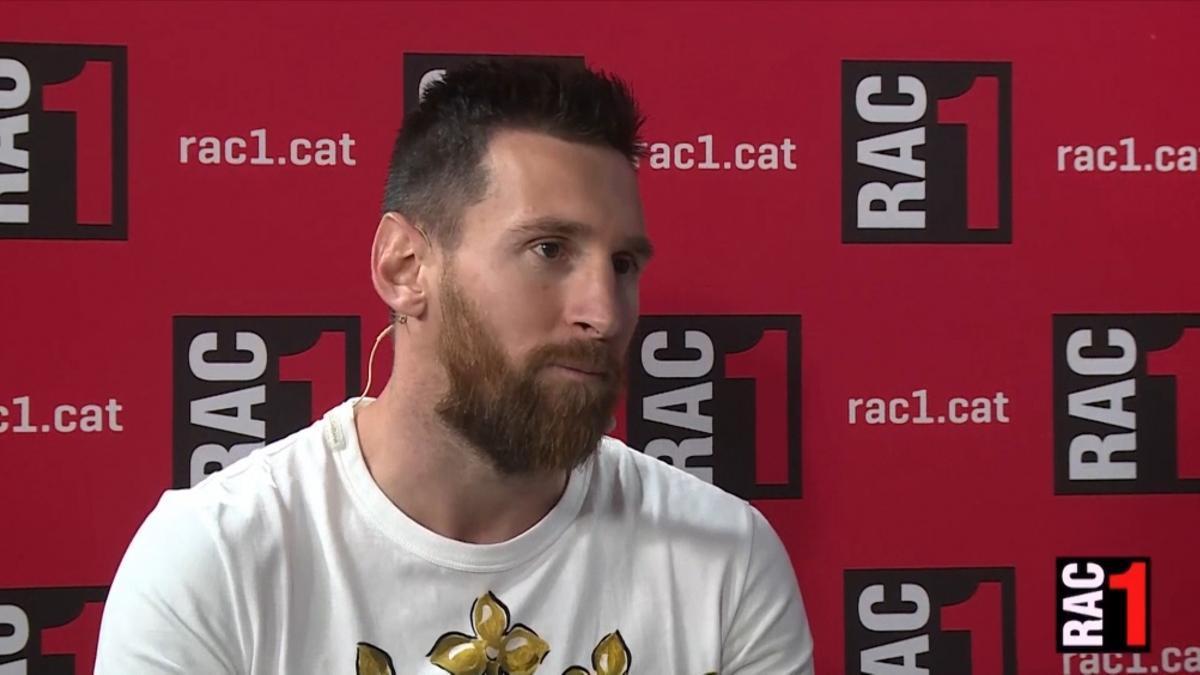 Lionel Messi donó material médico para Santa Fe, pero aún no recibe autorización de la ANMAT.