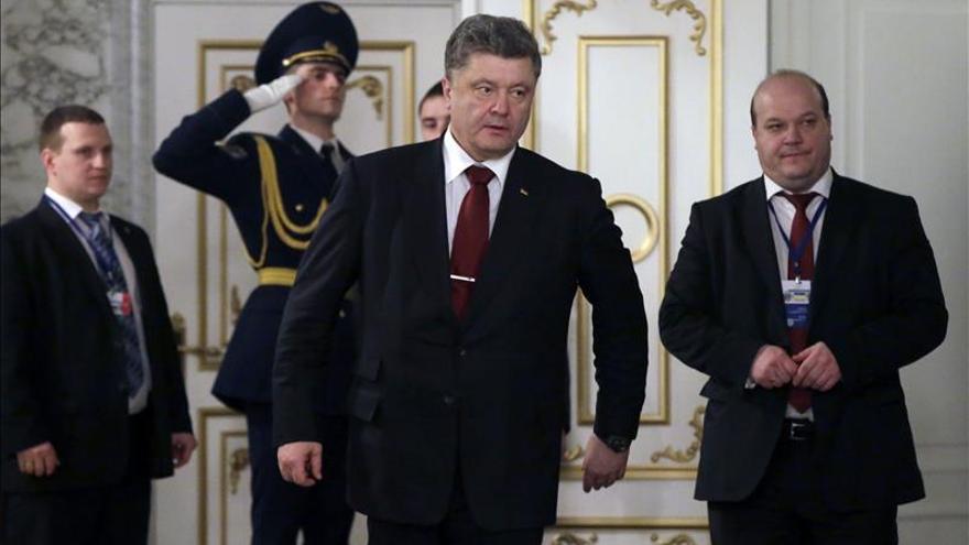 """Poroshenko asegura que no fue """"nada fácil"""" alcanzar el acuerdo sobre Ucrania"""