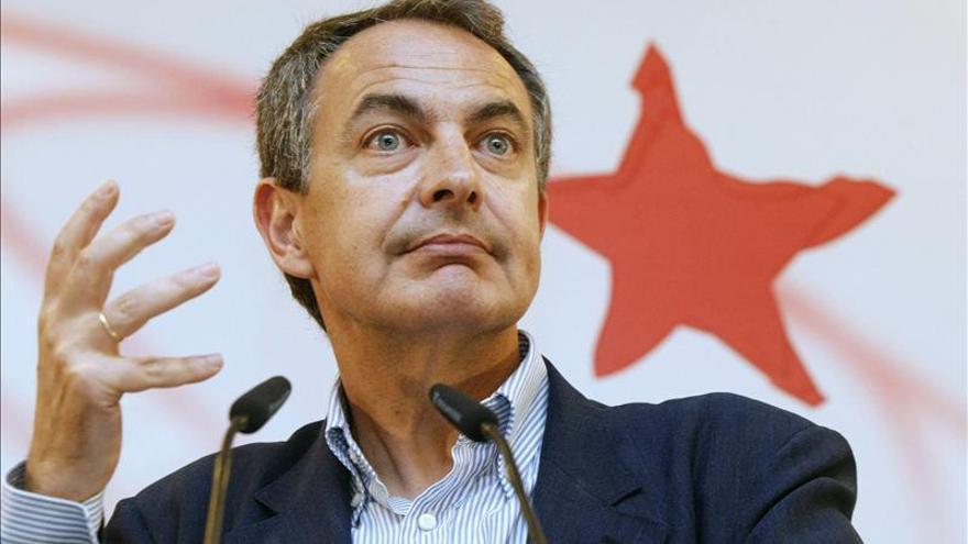 """Zapatero ve necesario """"denunciar el populismo y la xenofobia"""" de la extrema derecha"""