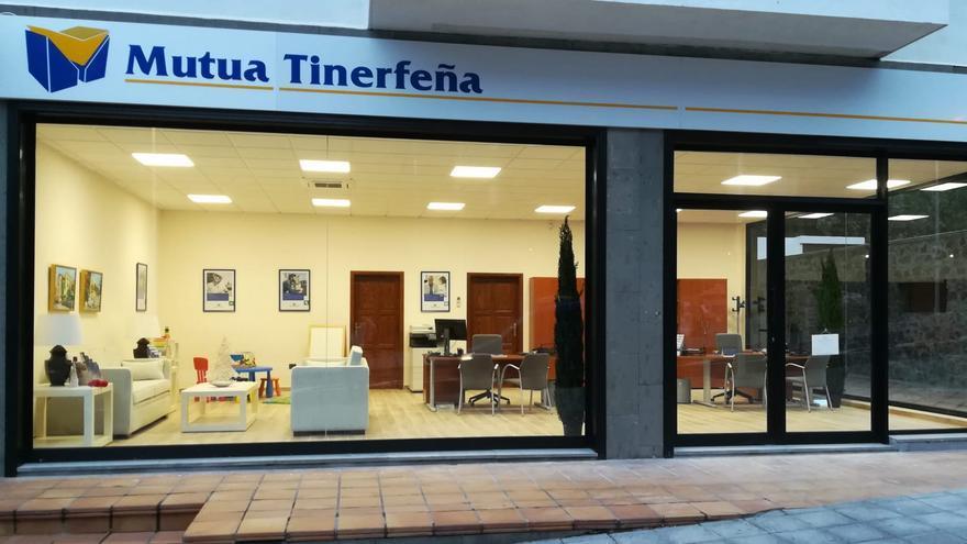 Nuevas instalaciones de Mutua Tinerfeña en Santa Cruz de La Palma.