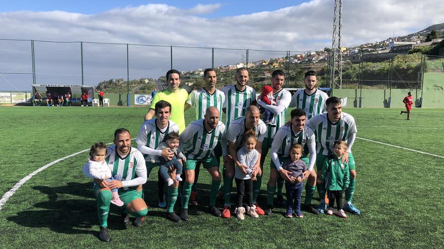 Formación del Atlético Victoria frente al Águilas
