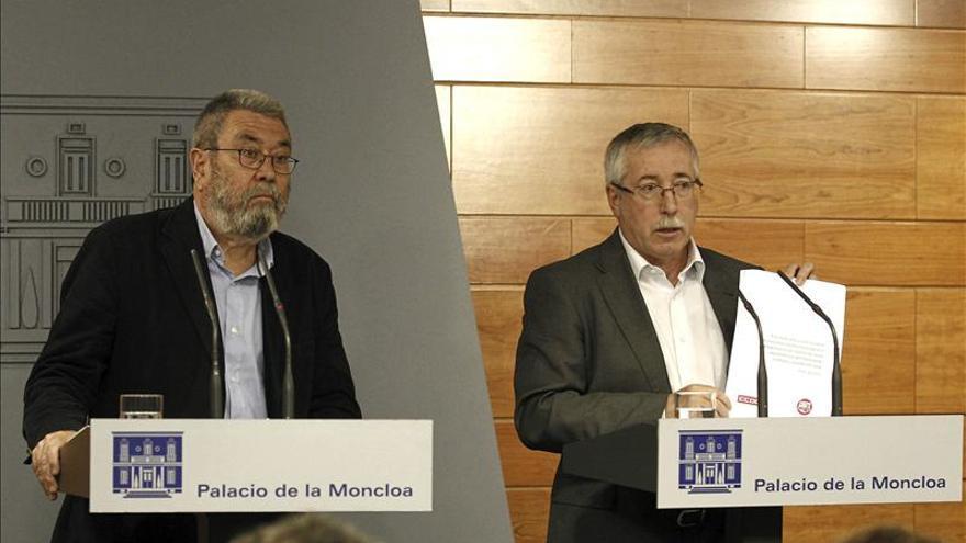 Méndez (UGT): El acuerdo para prorrogar convenios evita el abismo