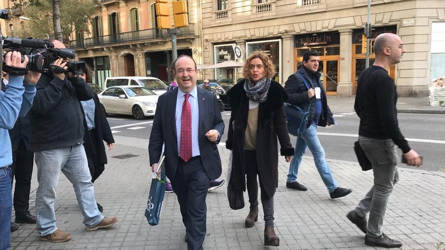 Iceta celebra el nombramiento de Enric Millo como delegado del Gobierno en Cataluña