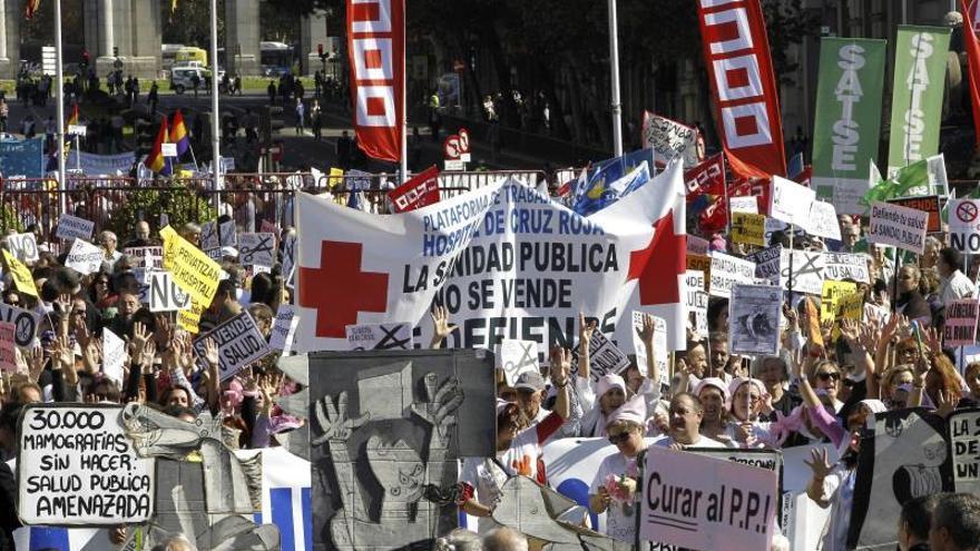 UGT y CCOO, satisfechos por la decisión de González y por el cese de Lasquetty