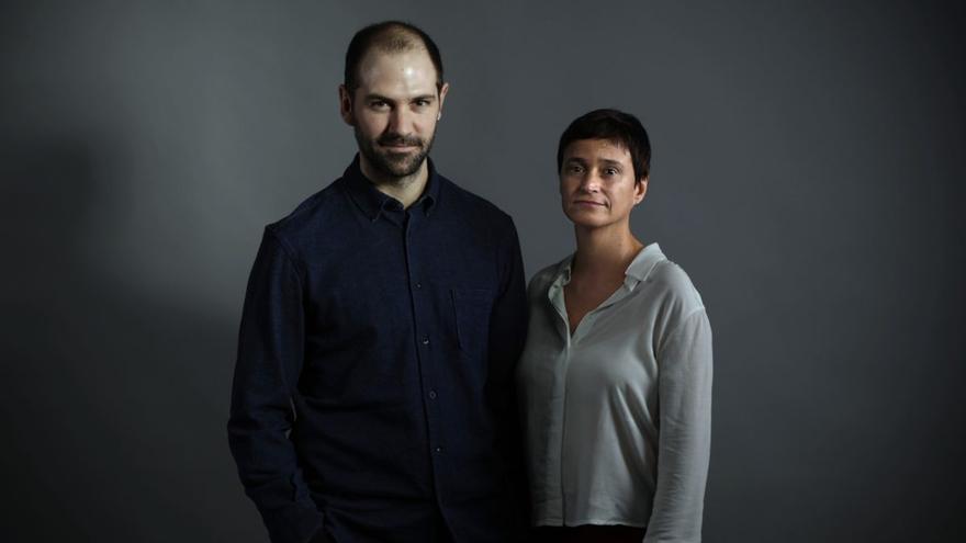 Isla Aguilar y Miguel Oyarzun, exdirectores artísticos de Conde Duque. / David Arenal
