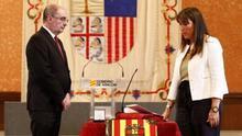 Toma de posesión de Sira Repollés, nueva consejera de Sanidad en Aragón