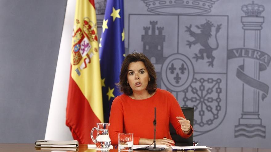 Santamaría responde a Cataluña que su situación financiera queda aliviada con la decisión de hoy