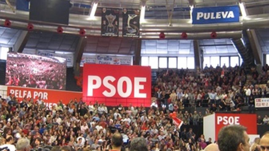 Mitin PSOE En Valencia