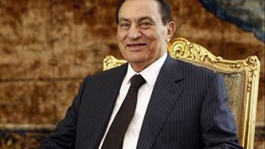 Hosni Mubarak. (EUROPA PRESS)