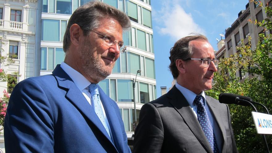 """Alonso denuncia que PNV ponga el """"listón muy alto"""" en términos soberanistas y cree que se ha convertido en un problema"""