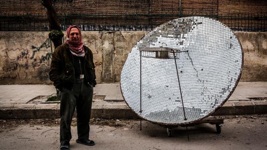 Abu Yassine fotografiado para el proyecto Humans of Syria. Ghith Sy