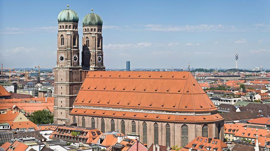 La 'Frauenkirche', la iglesia catedral de Múnich (Imagen: Wikipedia)